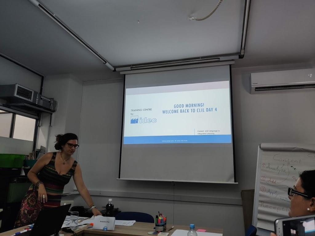 Erasmus+ KA1 Greece Día 4 Curso: «Designing CLIL»