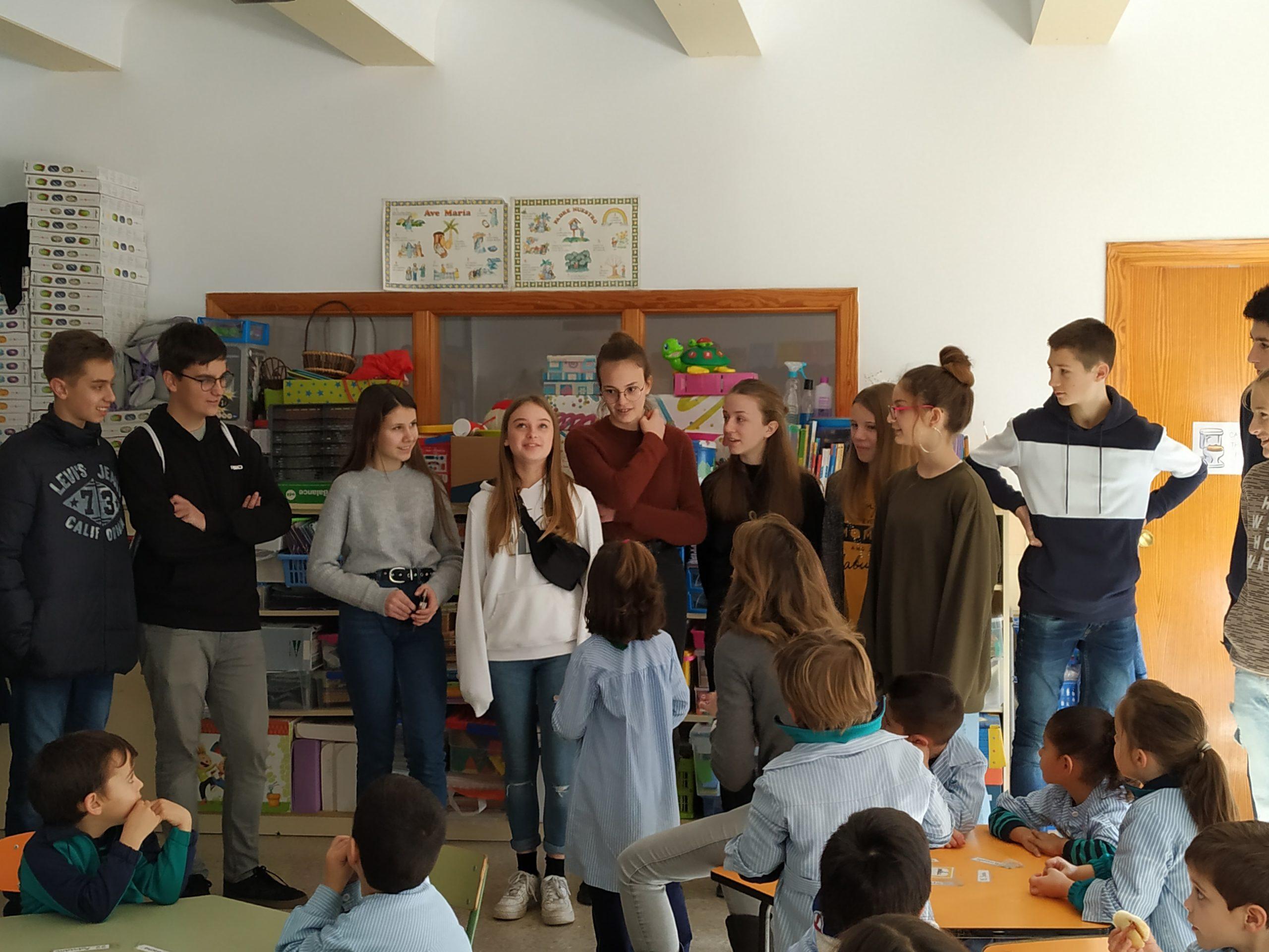 Intercambio KA2 – esGardens for Future Citizens. Día 2. 27/01/2020